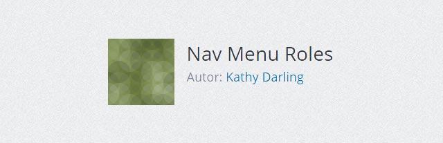 Nav-Menu-Roles