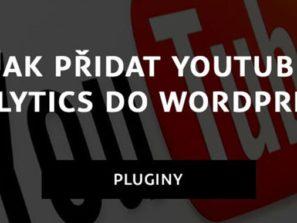 Jak přidat Youtube analytics do WordPressu